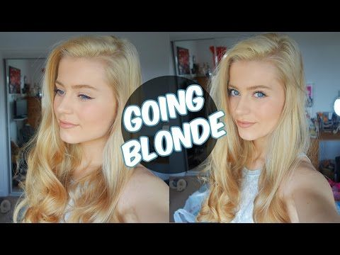 How I Went Completely Blonde At Home Insane Results Youtube Blonde Hair At Home Platinum Blonde Hair Blonde Hair Boy