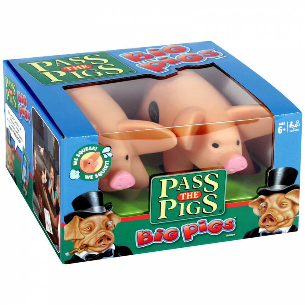 Pass the Pigs Collectible Card Board Dice Game Kids Party