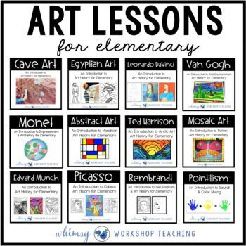 Photo of Art History for Elementary Bundle (13 Art Units with Teacher Scripts)