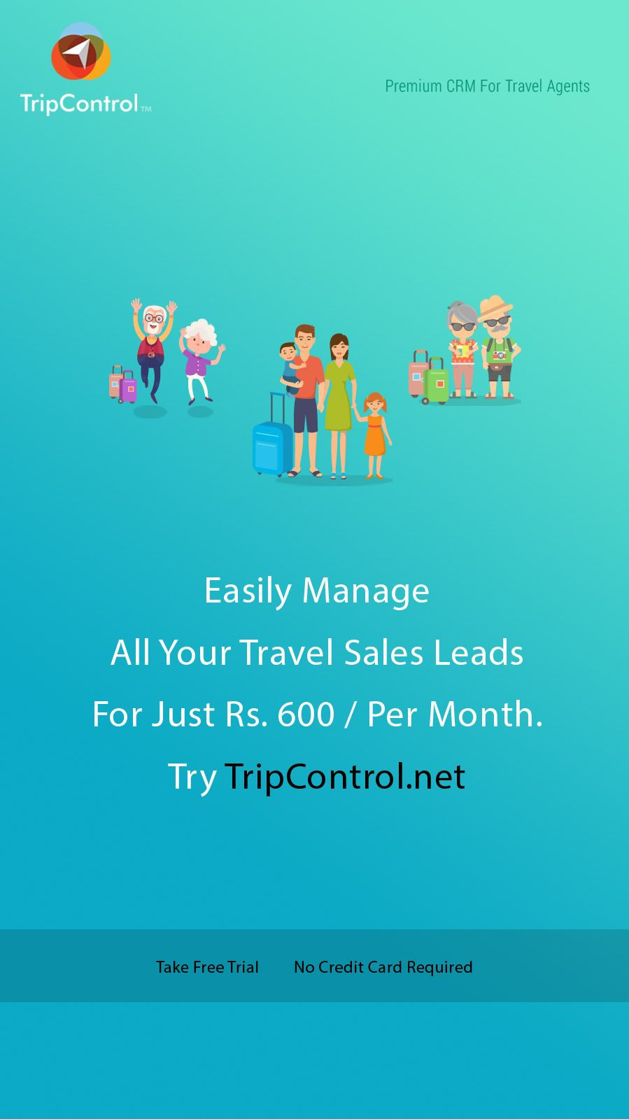 Easily manage your travel sales leads for just Rs 600/- per