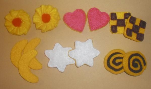 Zimtsterne und andere Kekse (für die Kinderküche) | kreative.stoffe.de