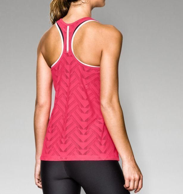 Women's UA ArmourVent  Tank @ http://www.FitnessGirlApparel.com