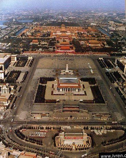 Tiananmen Square Beijing China Asia Travel