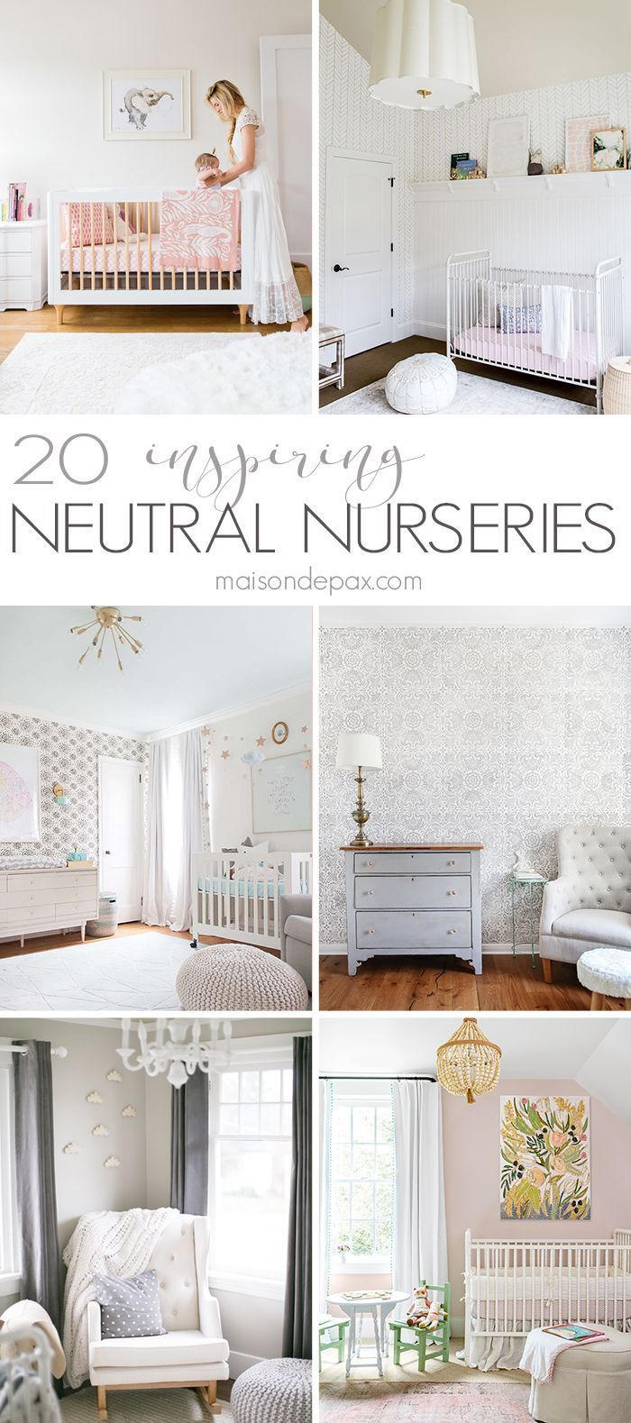 Looking for neutral nursery decorating ideas? These gorgeous ...