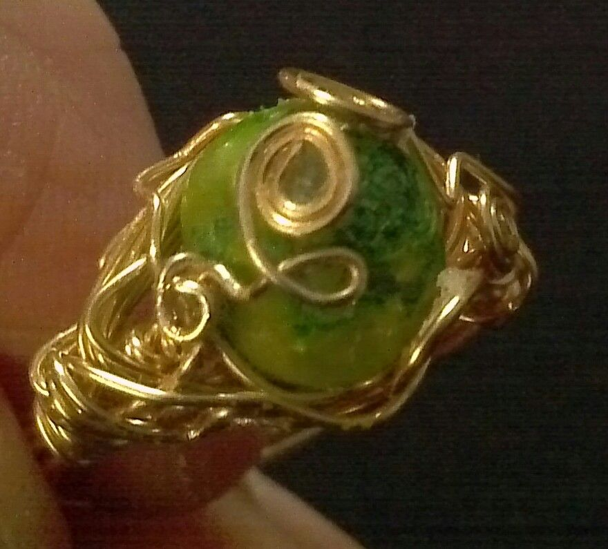 A Gem of a stone ring