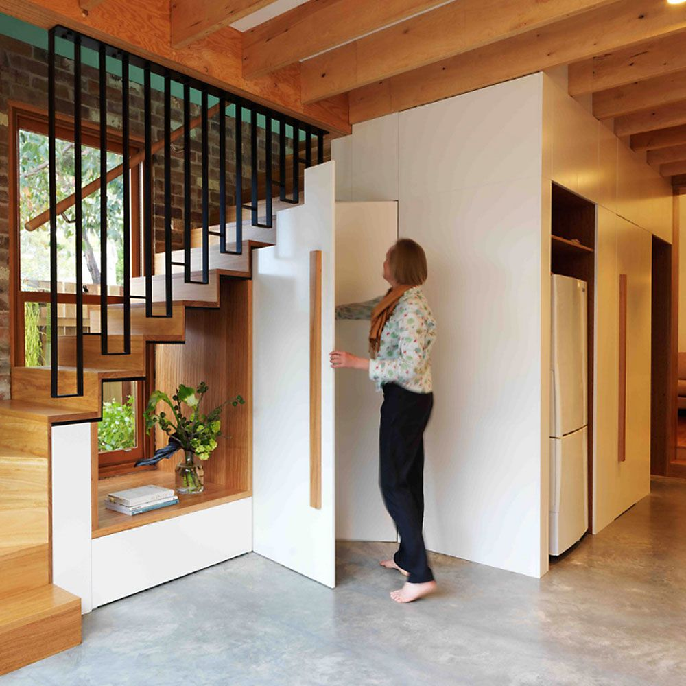 Best Renovated Terrace House Has See Through Stair Of The Week 400 x 300