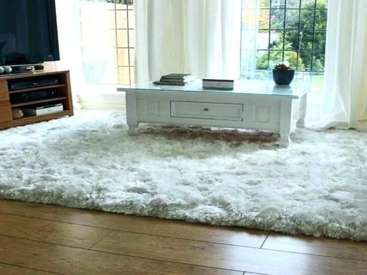 Fluffy white bedroom rug dining room woman fashion