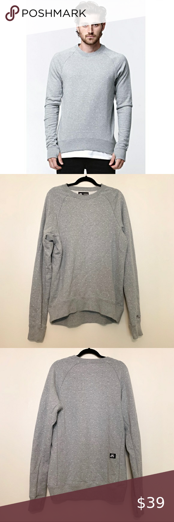 Nike Sb Everett Polka Dot Crewneck Sweatshirt In 2021 Clothes Design Crew Neck Sweatshirt Fashion [ 1740 x 580 Pixel ]