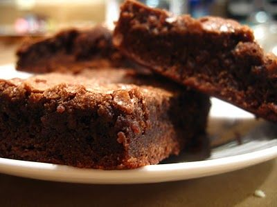 the nonpareil baker: Chewy Brownies