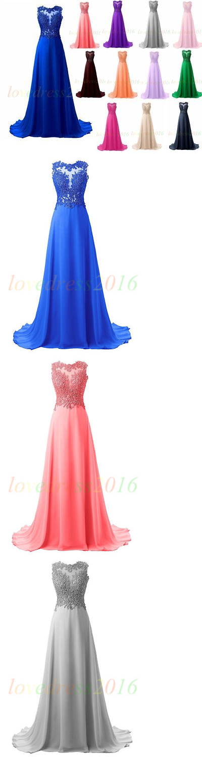 Dresses 63861 New Long Prom Dress Bridesmaid Cocktail Evening Party