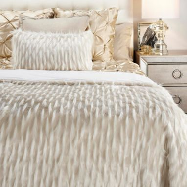 Corseca Blanket Ivory Stylish Home Decor Bedroom