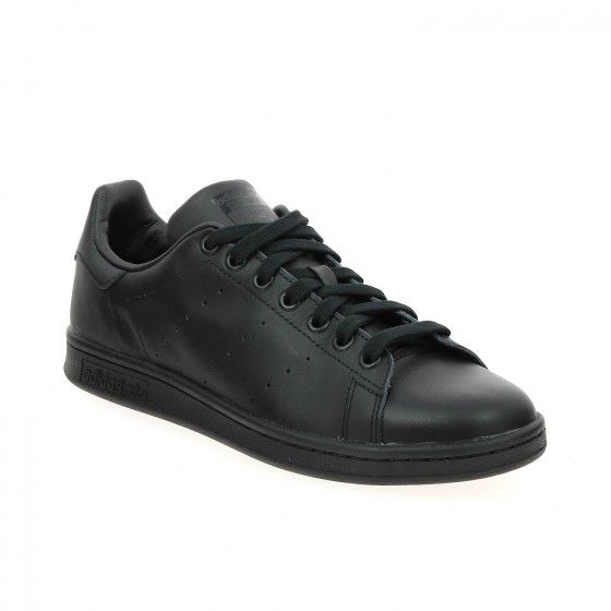 #Bessec Basket ADIDAS #STAN_SMITH Noir à 85€
