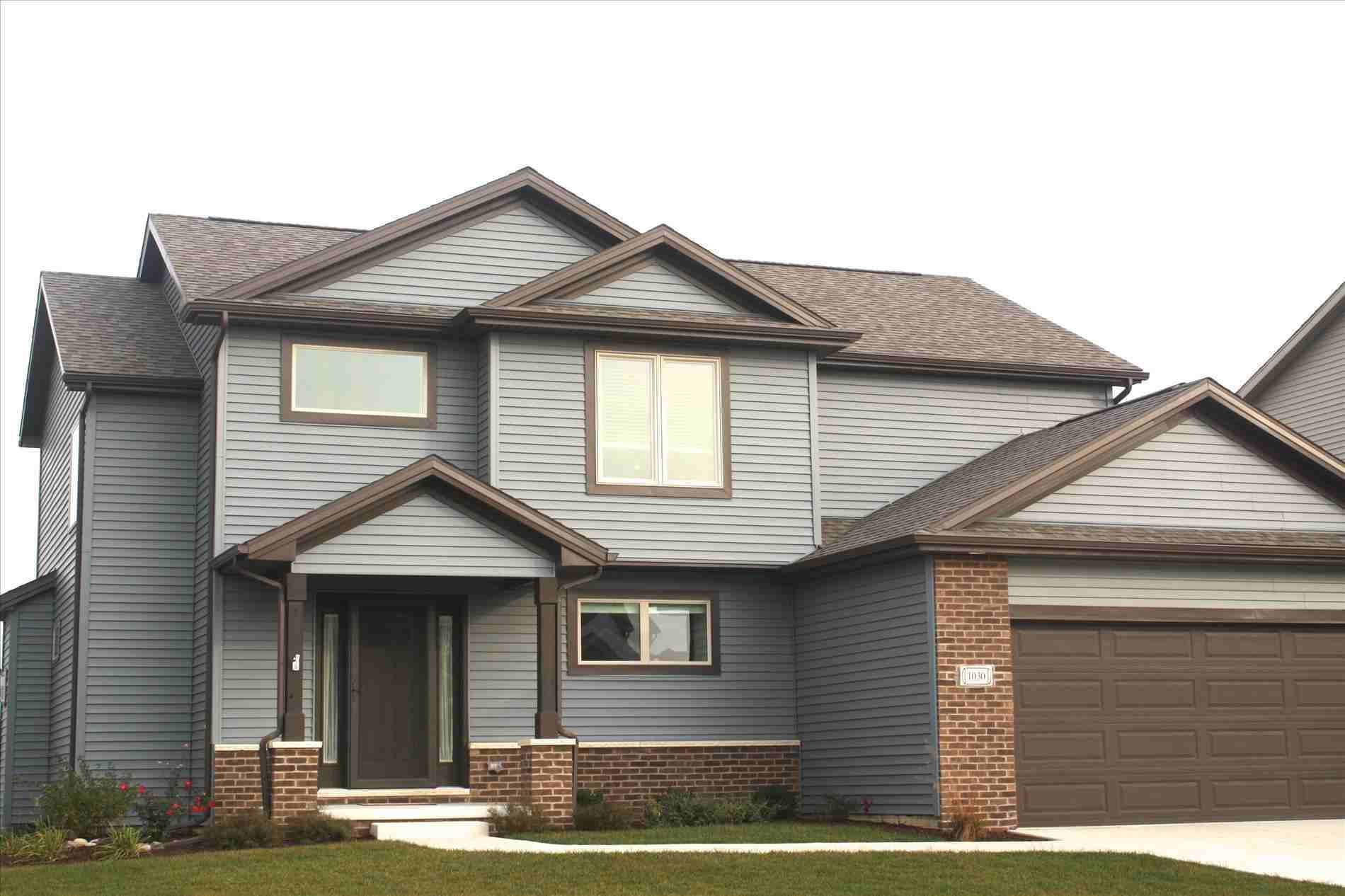 New Post Gray House With Brown Roof Visit Bobayule Trending Decors