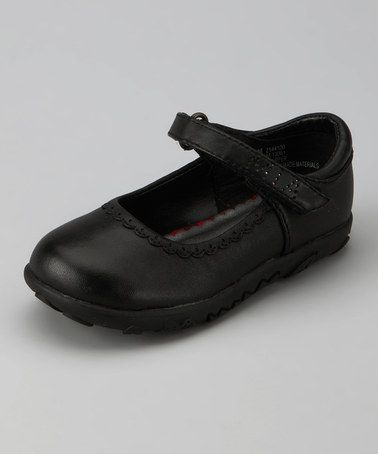 Take a look at this Black Mary Jane by MIA Shoes on #zulily today!