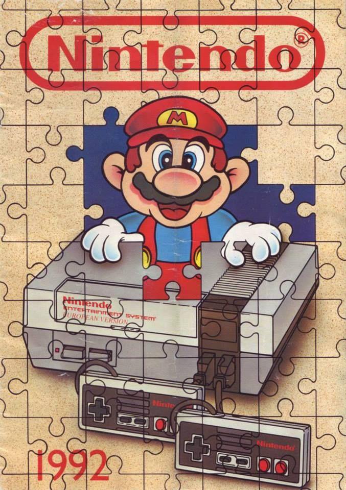¿Qué videojuego de la factoría #Nintendo les rompió la cabeza y por qué motivo?   Imagen: Nintendo Puzzle Calendar 1992