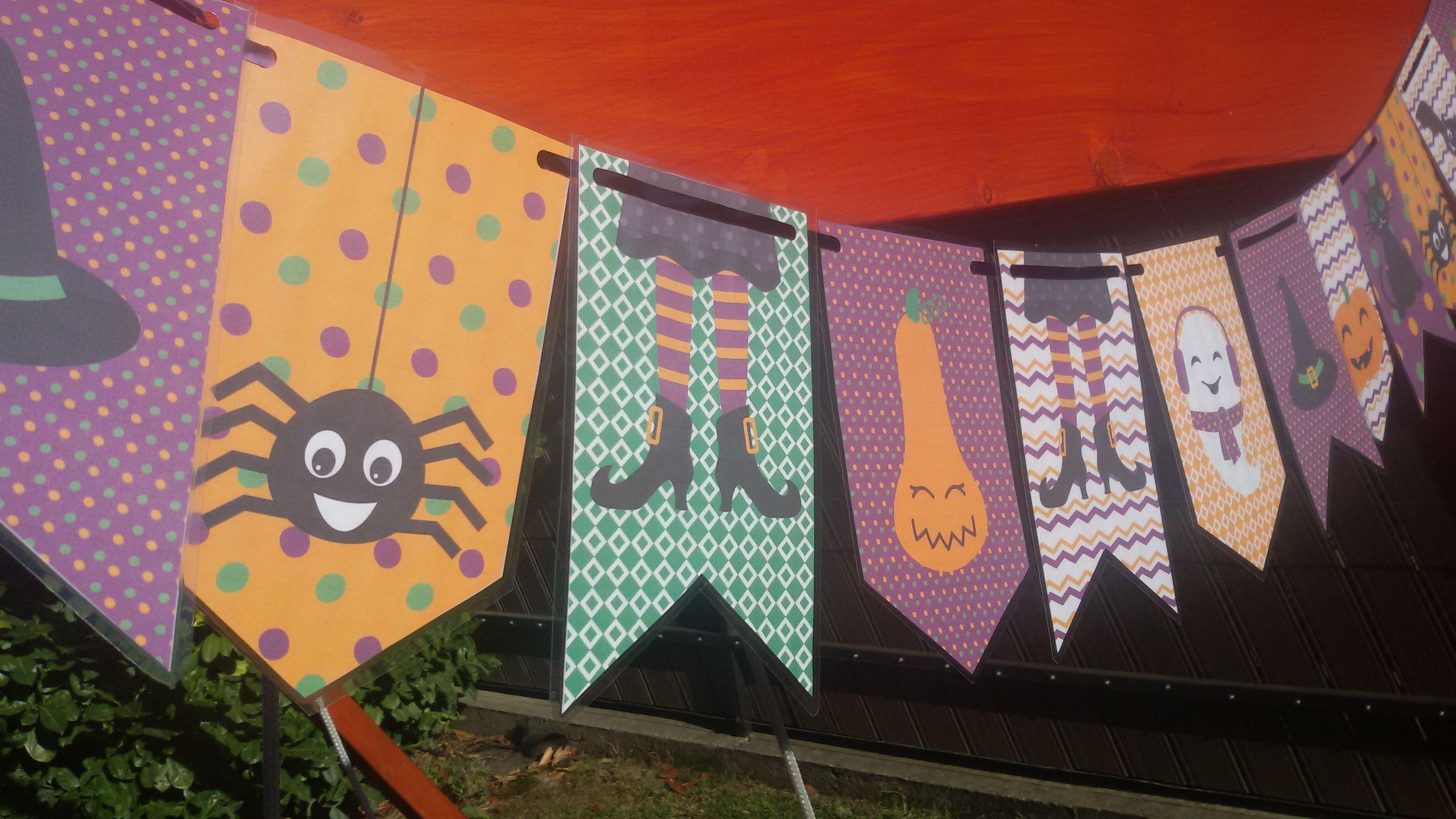 Halloween Zaszlosor Halloween Flags Ready To Print