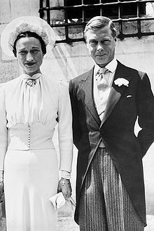 The Duchess of Windsor married the highest-ranking Englishman of any American, former King Edward VIII, who remained a Royal Duke after his abdication.