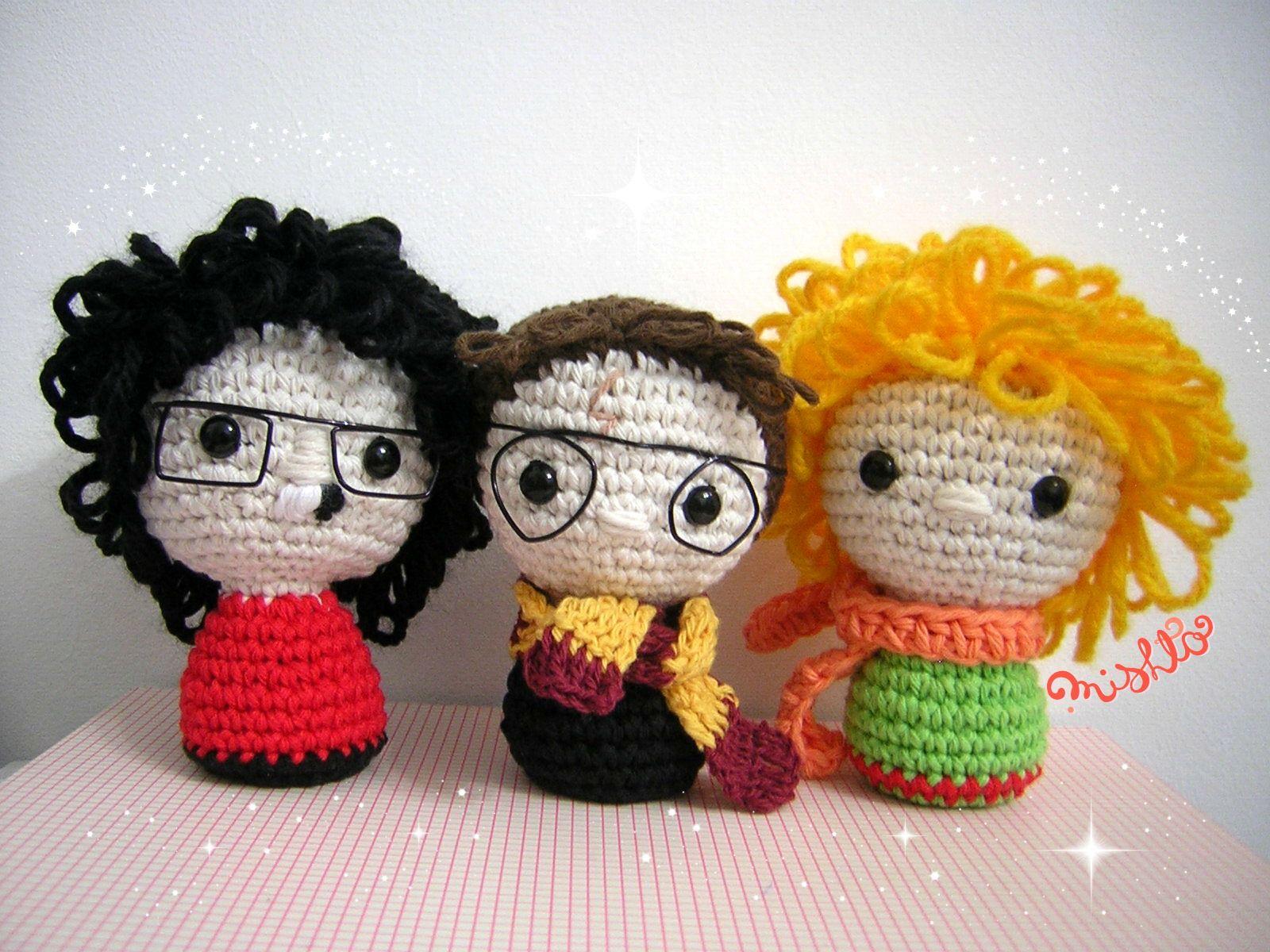 Charly García, Harry Potter y El Principito amigurumi by Mishto See ...