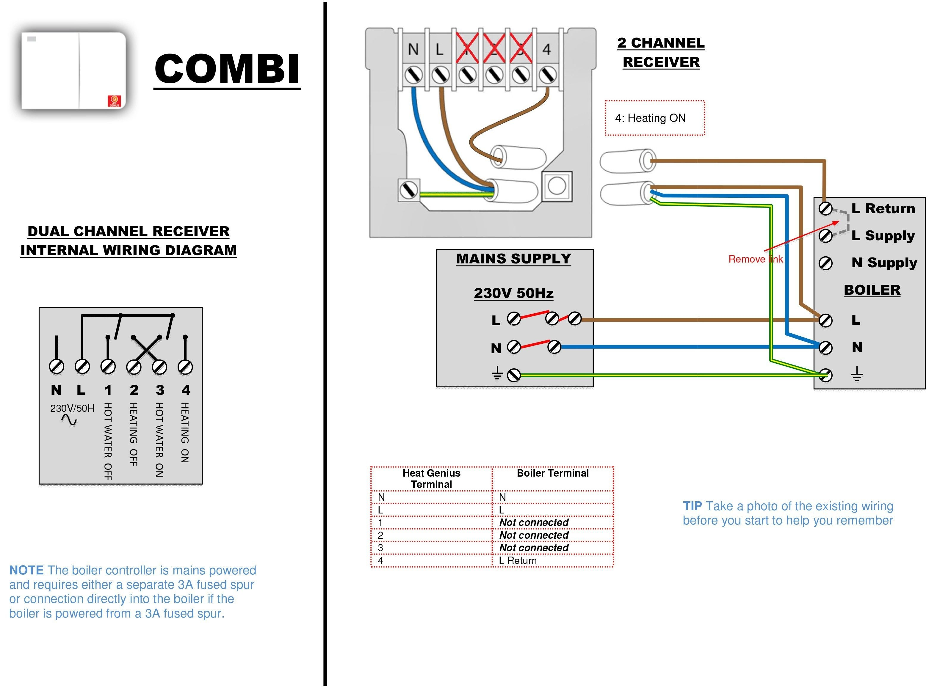New Wiring Diagram For Combination Boiler Combi