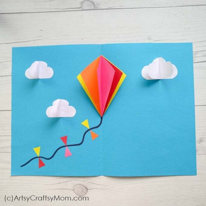 15 Easy Kite Craft Ideas For Kids Kites Craft Arts Crafts For