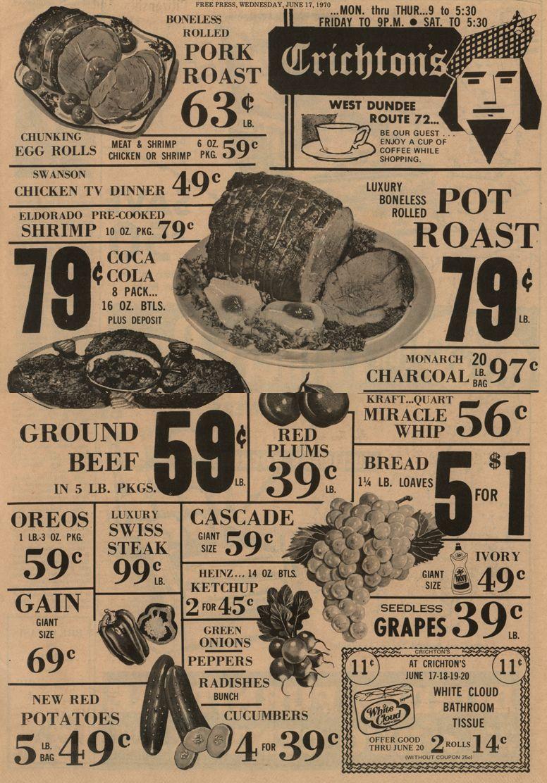 Vintage bathroom ads - Old Supermarket Newspaper Ad Google Search