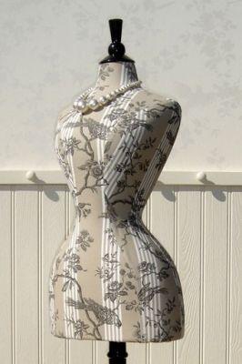 pinjen luff on dress forms / mannequins  dress