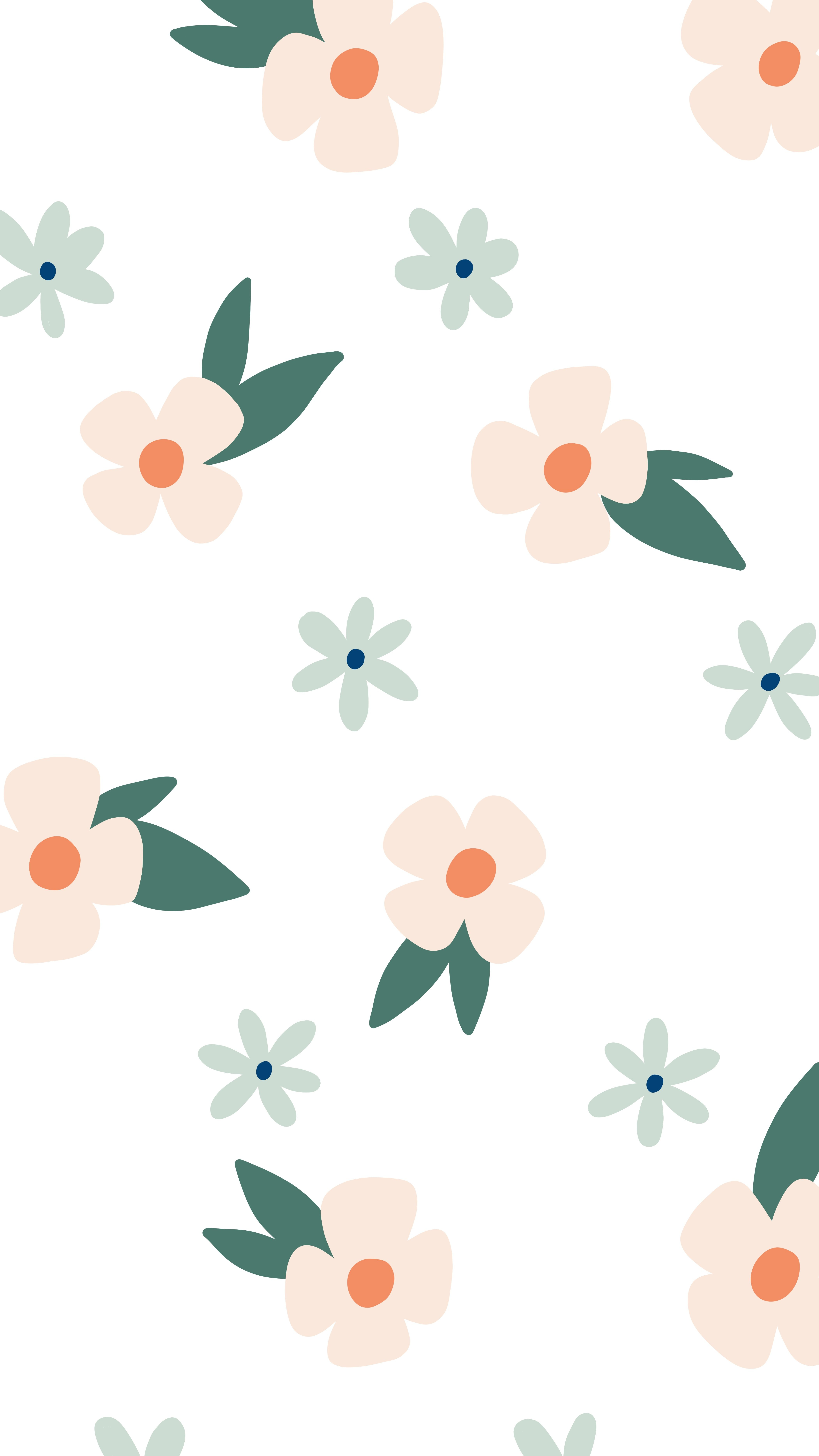 My May Flowers A Daily Drawing Challenge Simple Floral Pattern