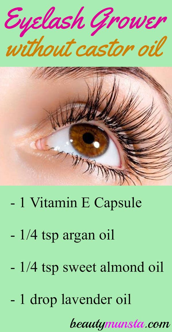 Diy Eyelash Growth Serum Without Castor Oil Tips Pinterest