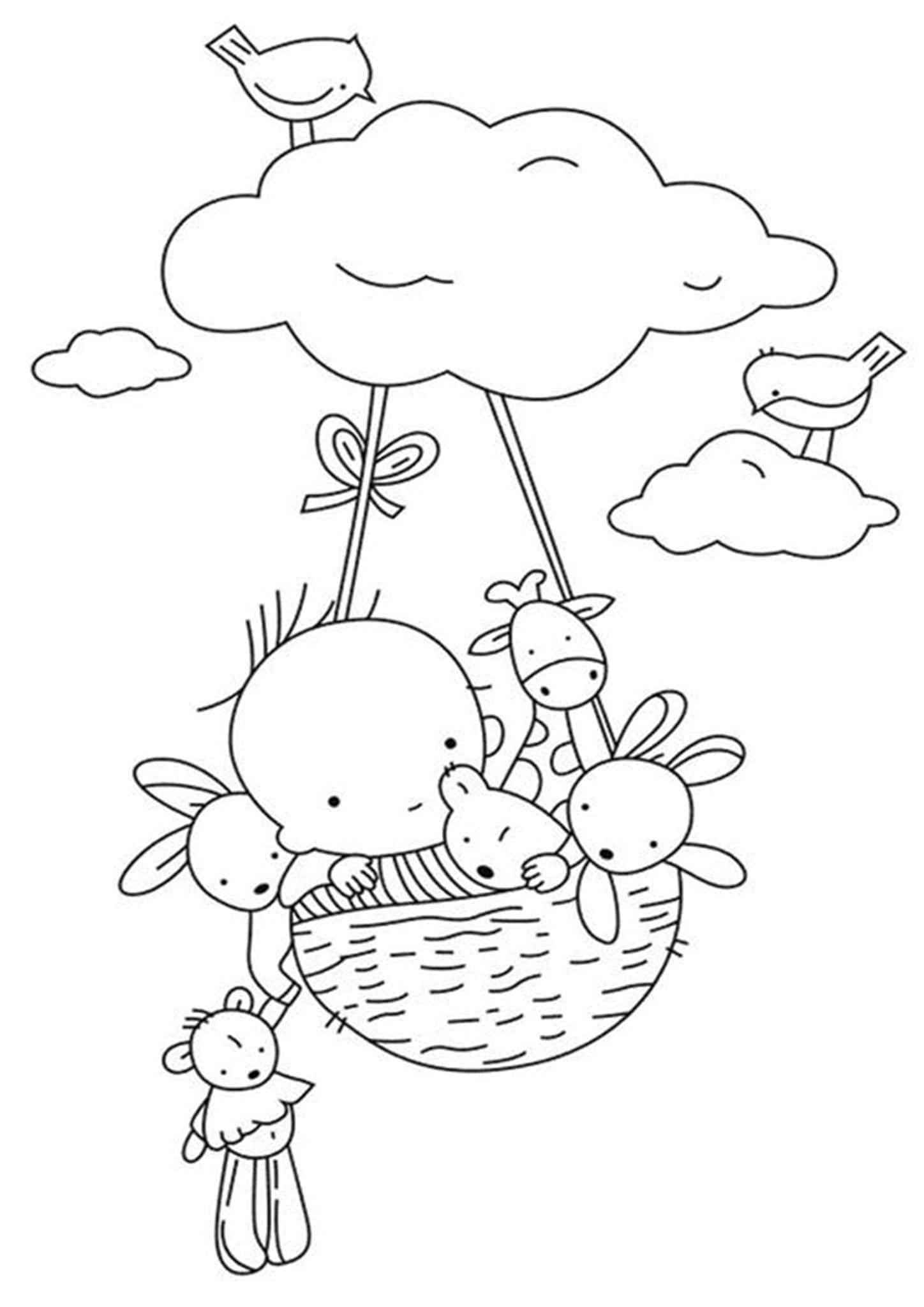 Free Easy To Print Baby Animal Coloring Pages Animal Coloring Pages Coloring Books Coloring Pages