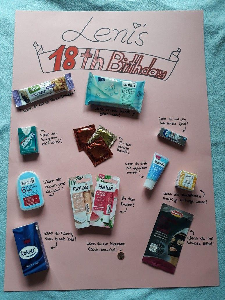 Geschenk zum 18 Geburtstag   Geschenke zum 18, Geschenke