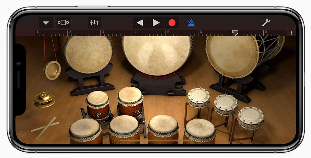 Apple releases a significant update to garageband for ios