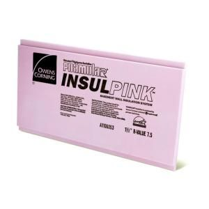 Owens Corning Foamular 1 1 2 In X 2 Ft X 8 Ft R 7 5 Insulpink Furring Lap Rigid Foam Board Insulation Sheathing 43wd The Home Depot Foam Insulation Board Rigid Foam Insulation Commercial Insulation