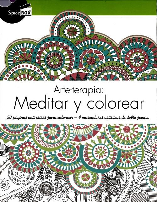 Arte terapia: Meditar y Colorear | Expresiones Creativas | Pinterest ...