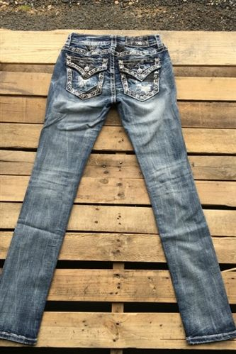 boutique clothing, chic,Miss Me Mid-Rise Studded Jeans