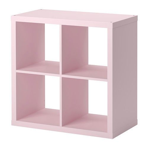 IKEA Kallax Expedit Bookcase Shelving Cube Light Pink Storage