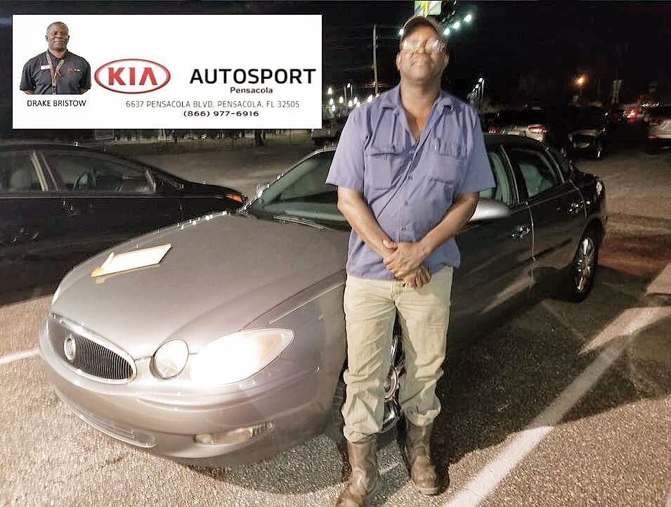 Drake Bristow And KIA AutoSport Pensacola Would Like To Thank Mr. Caldwell  On The Purchase