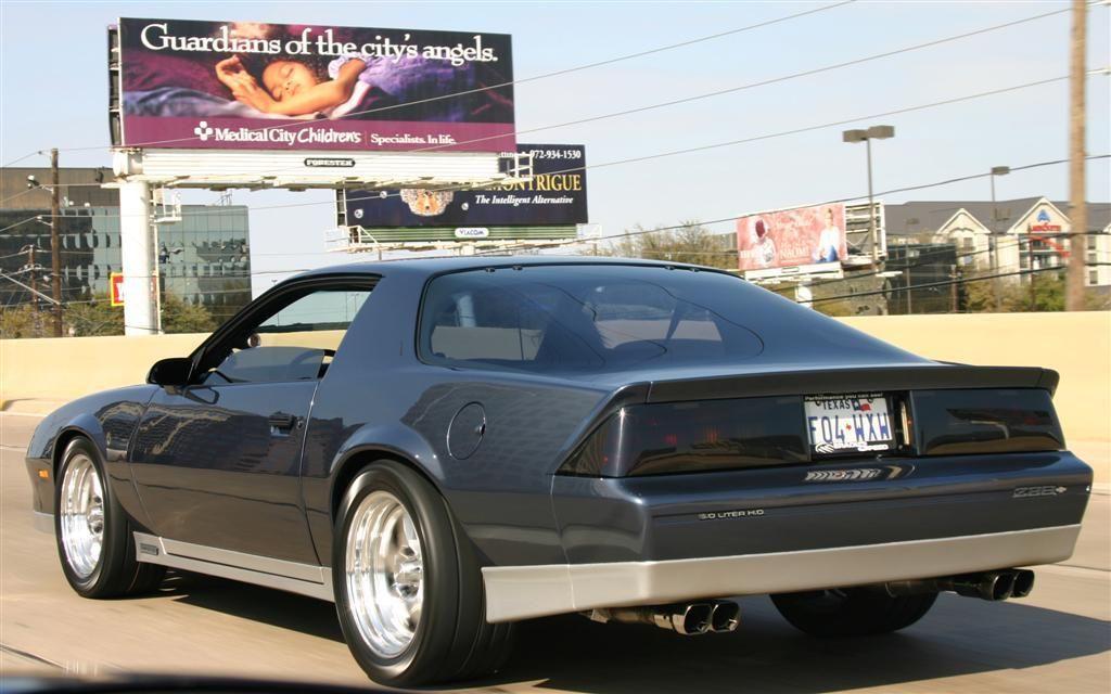1984 Camaro Engine 1 - Chevy Camaro Z Mine Was Black With Gold Stripe - 1984 Camaro Engine 1