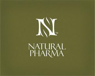 Naturalpharma By Chanpion Logo Design Branding Design Logos