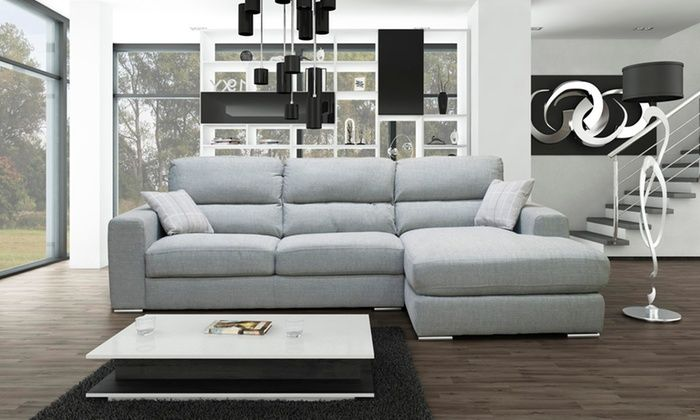 Groupon Goods Global Gmbh Pisa Corner Sofa In Choice Of Colour With Free Delivery Sofa S Chair S Sofa Corner Sofa Sofa Chair
