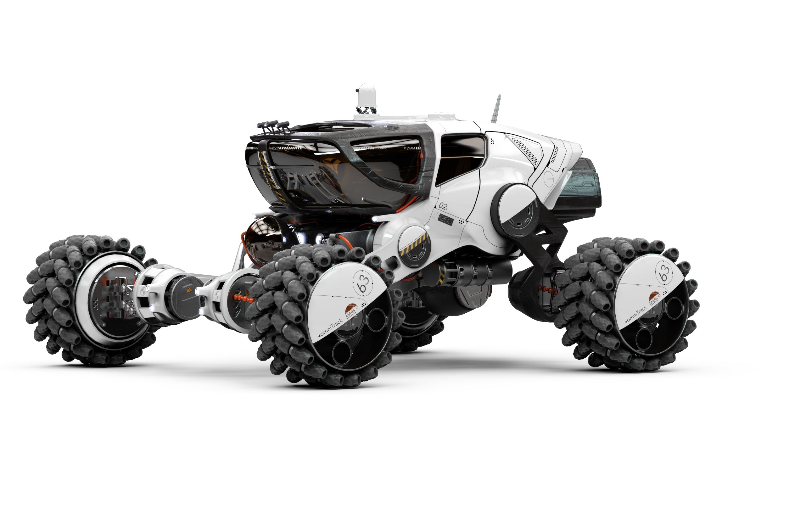 Mars 9 Rover 3/4 view | CONCEPT ART | Pinterest | Sci fi ...
