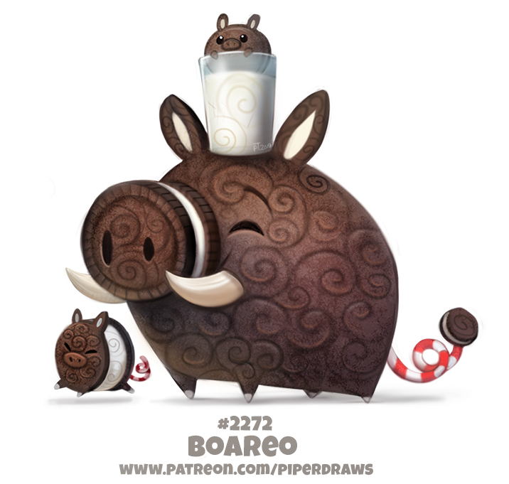 Daily Paint 2272. Boareo by Cryptid-Creations
