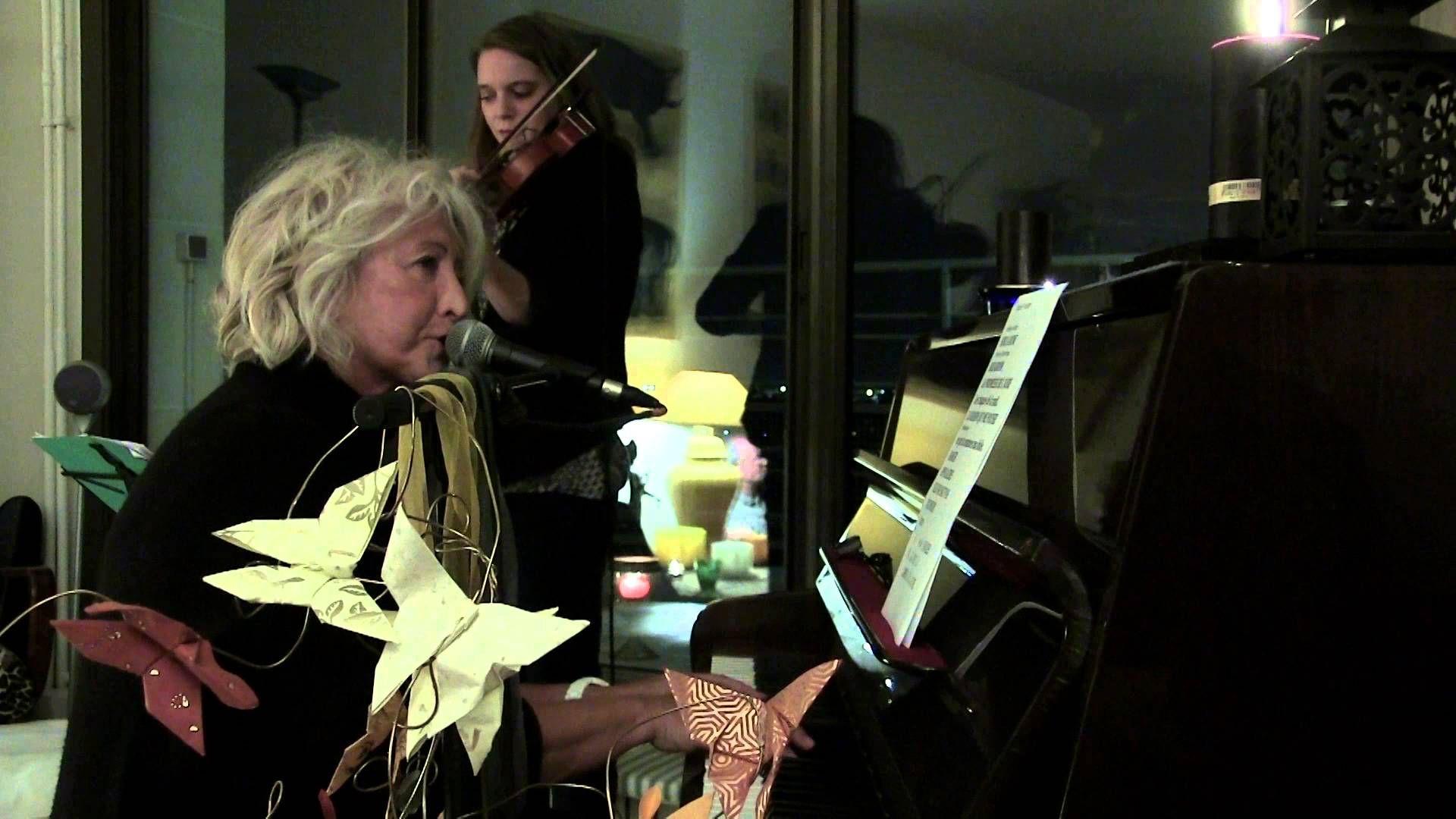 """Première d'une série de sessions live """"Froggy's Delight"""" filmée en concert dans mon appartement"""