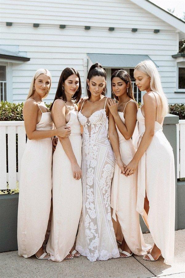 Roma Bridesmaid Dress - Blush