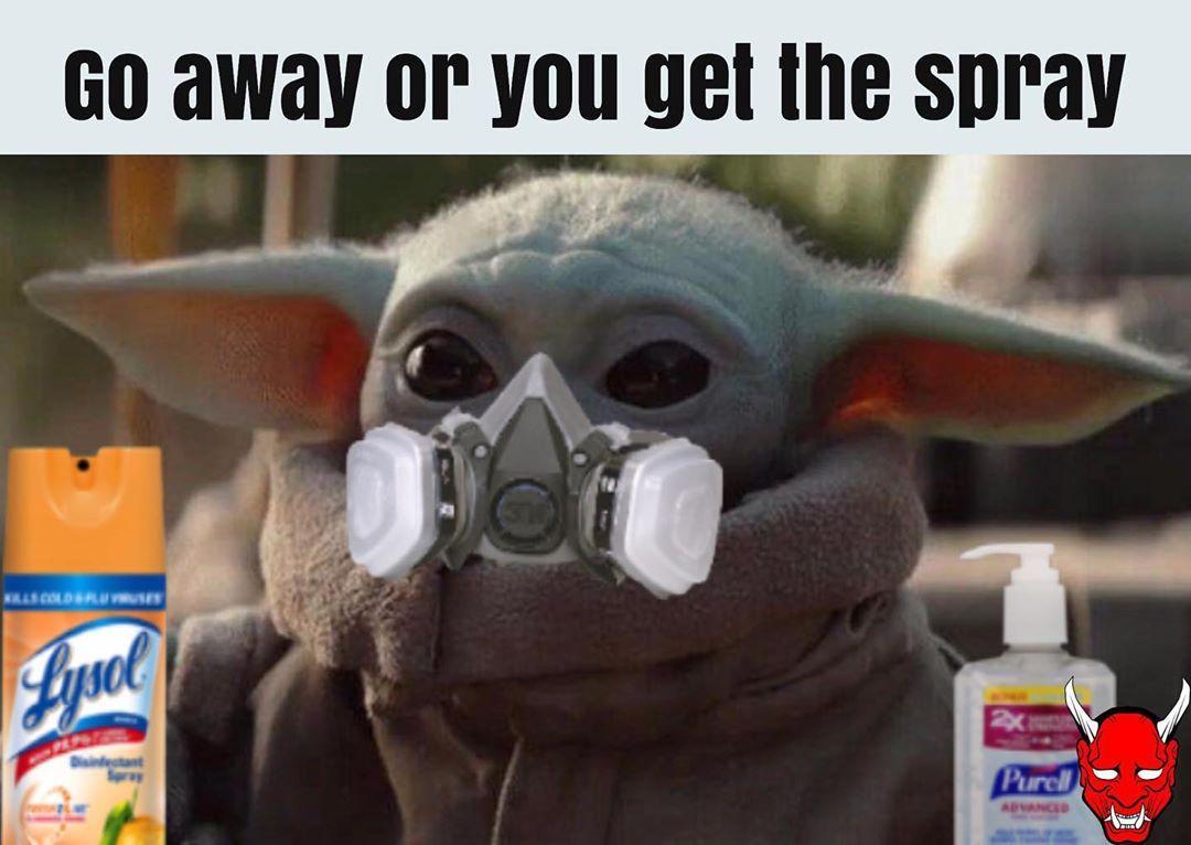 Baby Yoda It Memes On Instagram Follow Babyyodaitmemes For More Yoda Meme Funny Babies Stupid Funny Memes