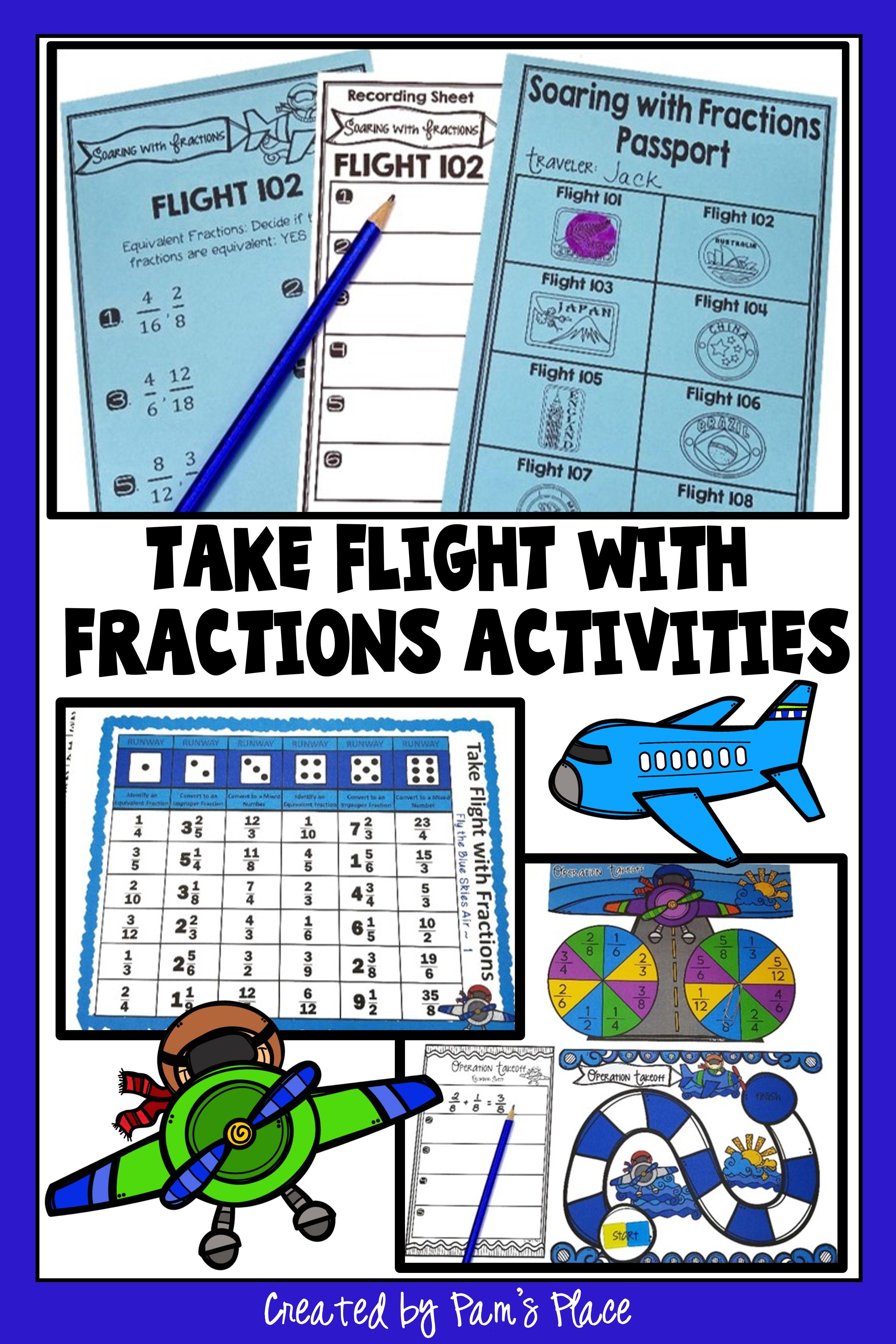 5th Grade Fractions Activities