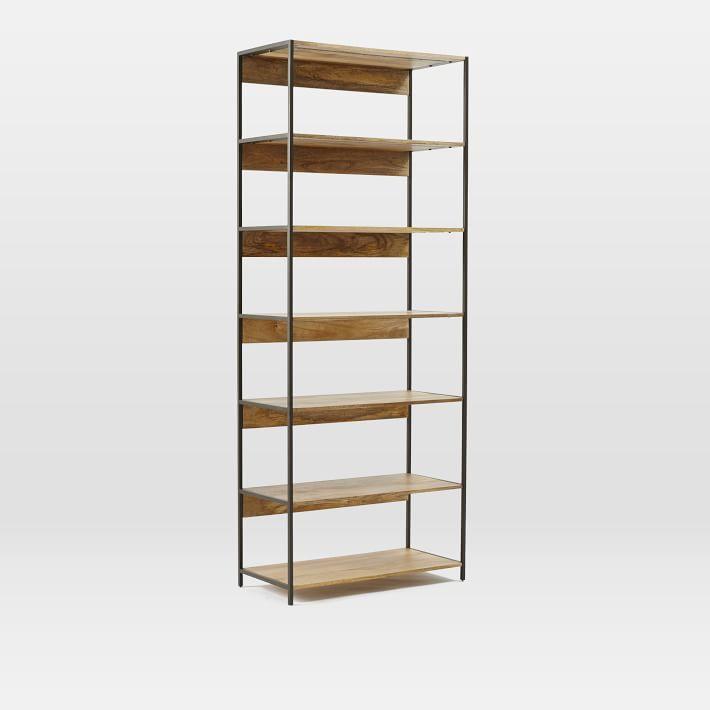 Industrial Modular 33 Bookshelf Bookcase Storage Modular Storage Industrial Storage