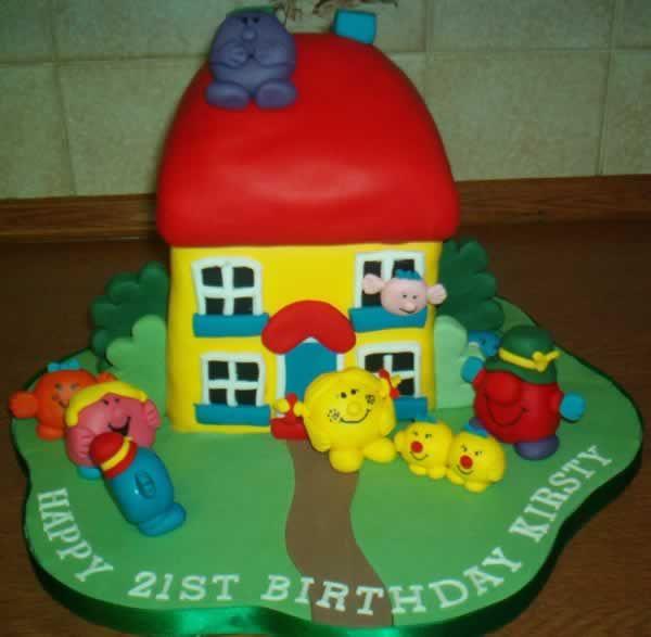 Mr Men And Little Miss Cake Mr Men And Little Miss Cakes Party - Little miss birthday cake