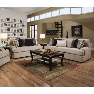 Best Latitude Run Palmetto Living Room Set Beige Couch Couch 640 x 480