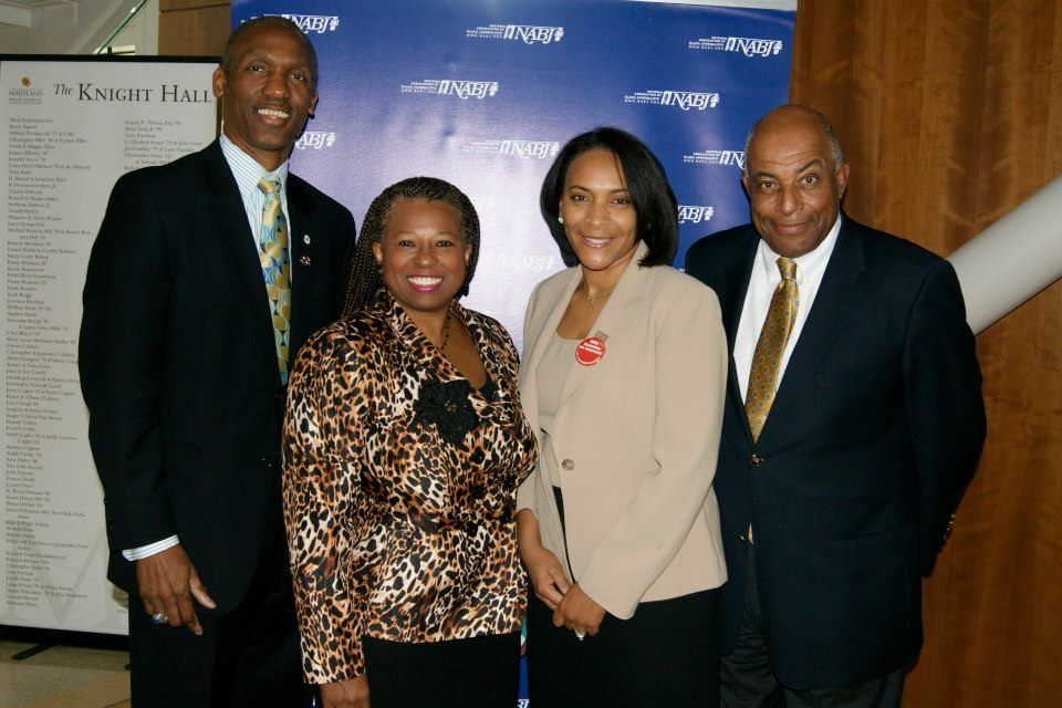 Craig M. Muckle, Manager, Public Affairs, Safeway; Doxie A. McCoy, Senior Communications Manager, Executive Office of Mayor Vincent C. Gray; Dawn Roberts, NABJ Associate Member Representative; Charles Fancher, Assistant Interim Chair, Howard University