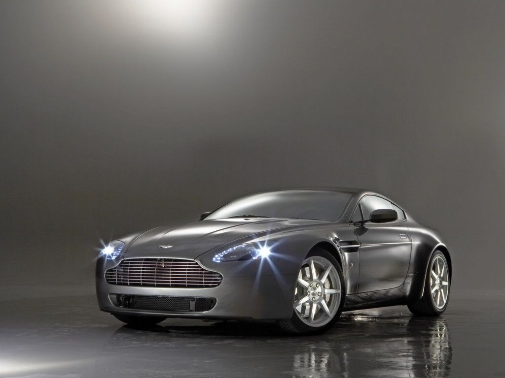 aston martin v8 vantage james bond style :) | dream cars
